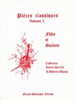 Pièces Classiques Volume 1 - Flûte Guitare laflutedepan