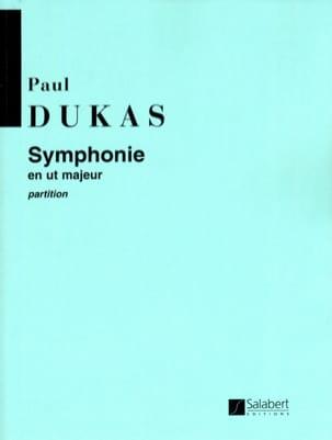 Symphonie en ut majeur DUKAS Partition Grand format - laflutedepan