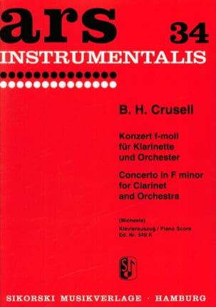 Concerto en Fa Mineur Op. 5 Bernhard Henrik Crusell laflutedepan