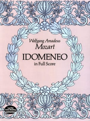 Idomeneo MOZART Partition Grand format - laflutedepan