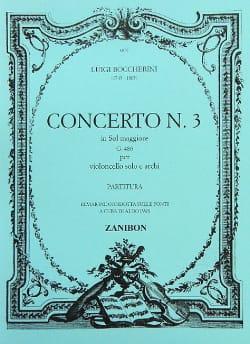 Concerto n° 3 Cello, sol maggiore G. 480 BOCCHERINI laflutedepan