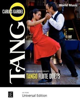 Tango Flute Duets Carlos Gardel Partition laflutedepan
