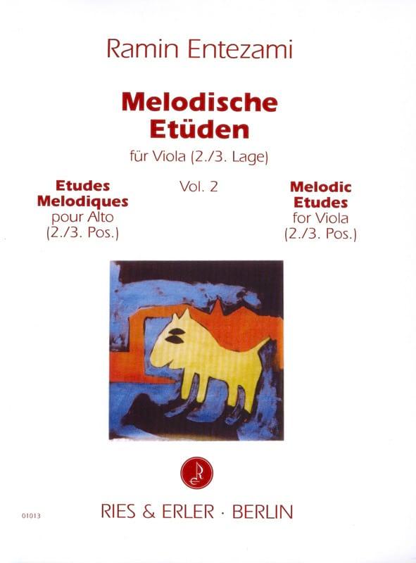 Etudes Mélodiques Volume 2 - Ramin Entezami - laflutedepan.com