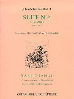 Suite n°2 en si min. BWV 1067 - Flûte piano BACH laflutedepan