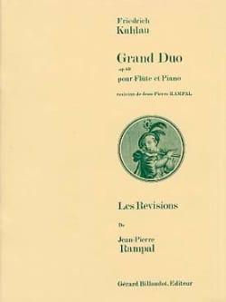 Grand duo op. 69 - Friedrich Kuhlau - Partition - laflutedepan.com