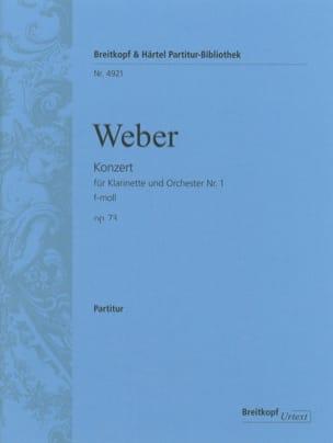 Klarinettenkonzert Nr. 1 f-moll op. 73 - Partitur laflutedepan