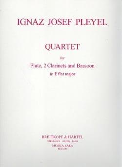 Quartet in E Flat major - Flute 2 clarinets bassoon - Score + parts laflutedepan