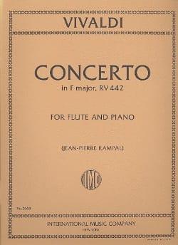 Concerto in F major RV 442 F. 6 n° 1 - Flute piano laflutedepan