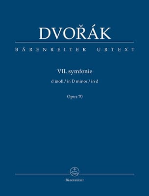 Symphonie n° 7 - Conducteur DVORAK Partition laflutedepan