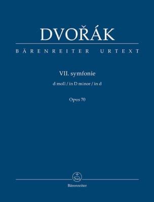 Symphonie n° 7 - Conducteur DVORAK Partition laflutedepan