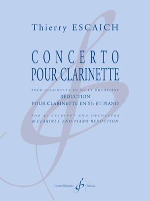 Concerto pour Clarinette - Clarinette et piano laflutedepan