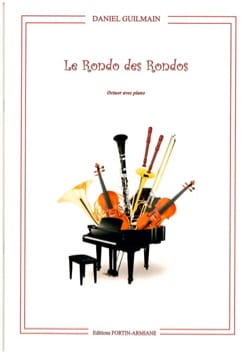 Le Rondo des Rondos Daniel Guilmain Partition OCTUORS - laflutedepan