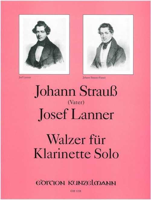 Walzer -Klarinette solo - laflutedepan.com