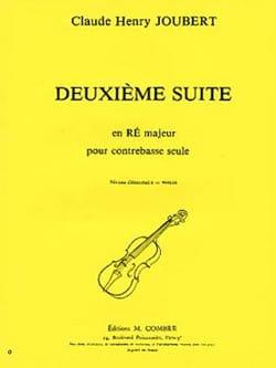 Suite n° 2 en ré majeur Claude-Henry Joubert Partition laflutedepan