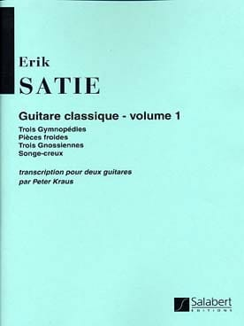 Guitare classique, Volume 1 SATIE Partition Guitare - laflutedepan