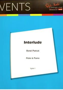 Interlude - Flûte et piano René Potrat Partition laflutedepan