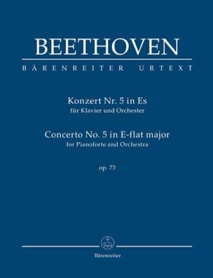 Concerto pour piano n° 5, op. 73 - Conducteur BEETHOVEN laflutedepan