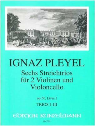6 Trios op. 56 - Livre 1 : Nr. 1-3 -2 Violinen u. Violoncello - Stimmen laflutedepan