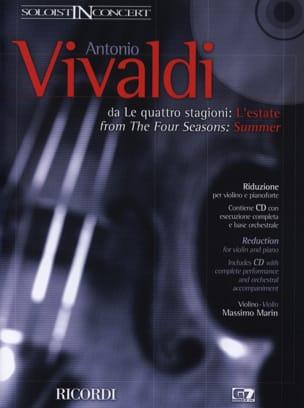 L'été, Op. 8 N° 2 Rv 315 VIVALDI Partition Violon - laflutedepan