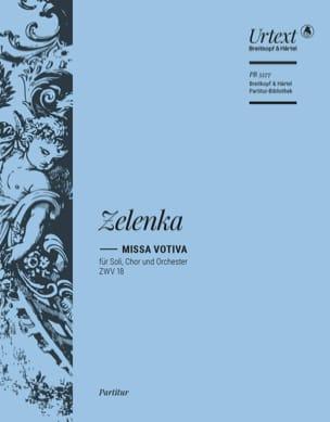 Missa votiva in E minor ZWV 18 - Edition Urtext ZELENKA laflutedepan