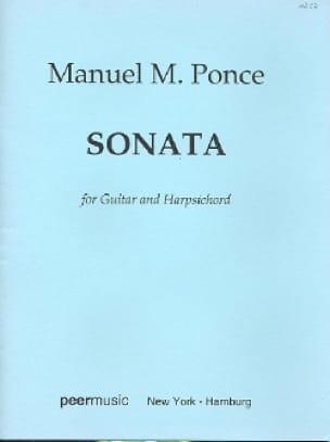 Sonata -Guitar Harpsichord - Manuel Maria Ponce - laflutedepan.com