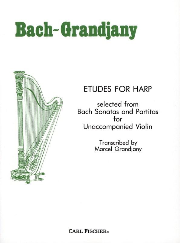 Etudes For Harp - BACH - Partition - Harpe - laflutedepan.com