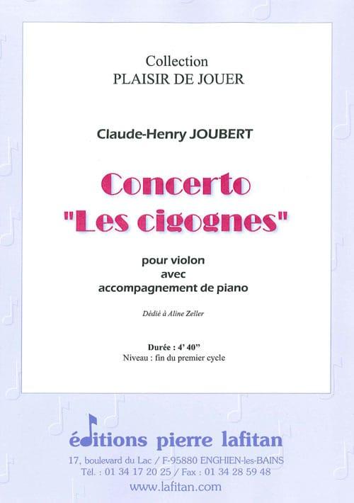 Concerto Les Cigognes - Claude-Henry Joubert - laflutedepan.com