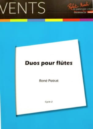 Duos pour flûtes - René Potrat - Partition - laflutedepan.com