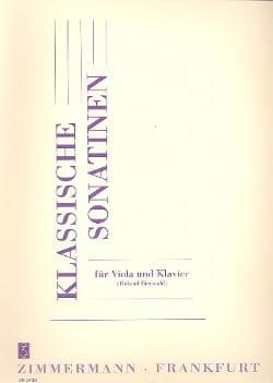 Klassische Sonatinen Roland Bierwald Partition Alto - laflutedepan