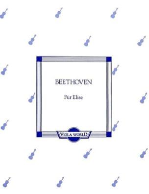 BEETHOVEN - Für Elise - Alto - Partition - di-arezzo.fr