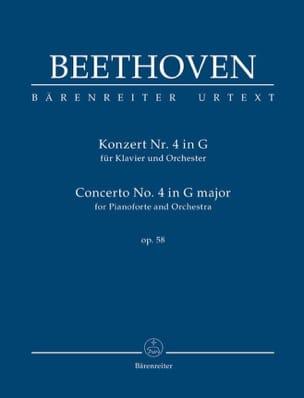 Concerto pour piano n° 4, op. 58 - Conducteur BEETHOVEN laflutedepan
