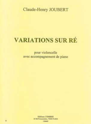 Variations Sur Ré - Claude-Henry Joubert - laflutedepan.com