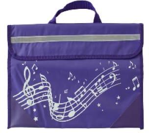 Cartable à Musique - Violet - Accessoire - laflutedepan.com
