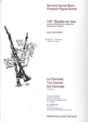 167 Etudes en Duo Volume 1 laflutedepan