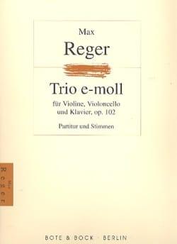 Max Reger - Trio op. 102 - Partitur Stimmen - Partition - di-arezzo.com