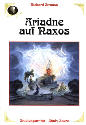 Ariadne auf Naxos Richard Strauss Partition laflutedepan