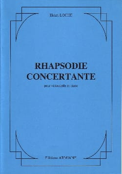 Rhapsodie concertante - Henri Loche - Partition - laflutedepan.com