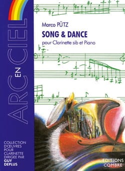 Song et Dance Marco Putz Partition Clarinette - laflutedepan