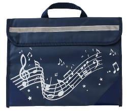Cartable à Musique - Bleu Marine Accessoire Accessoire laflutedepan