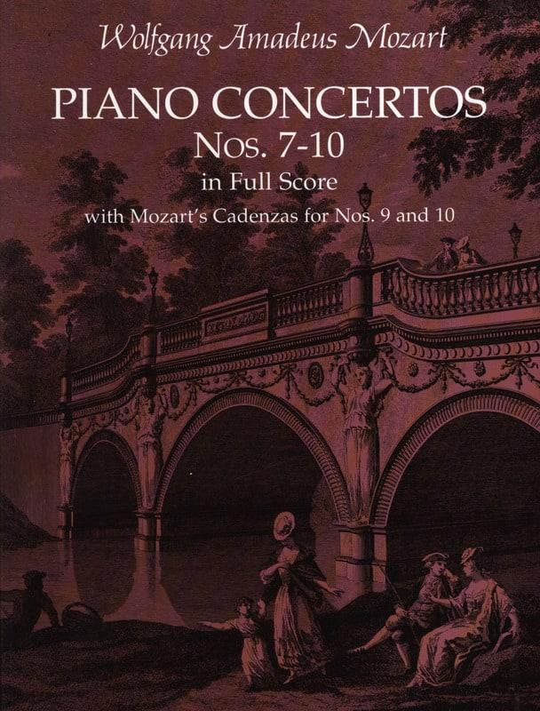 Piano Concertos N°7-10 - Full Score - MOZART - laflutedepan.com