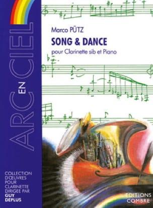 Song et Dance - Marco Putz - Partition - Clarinette - laflutedepan.com