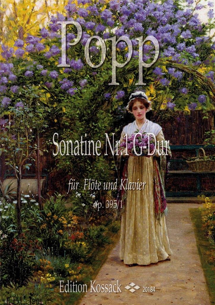 Sonatine, opus 395 n° 1 - Wilhelm Popp - Partition - laflutedepan.com