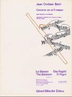 Concerto en mib majeur - Basson Johann Christian Bach laflutedepan