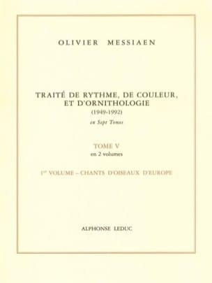 Tome 5 1 - Traité de Rythme, de Couleur et d' Ornithologie laflutedepan