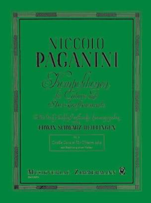 Grosse sonate - Violine Gitarre PAGANINI Partition 0 - laflutedepan