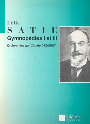 Gymnopédies 1 et 3 - Conducteur SATIE Partition laflutedepan