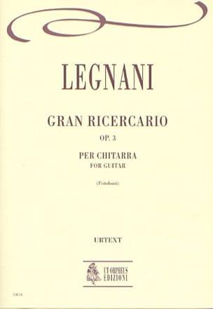 Gran ricercario op. 3 - Luigi Rinaldo Legnani - laflutedepan.com