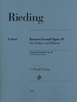 Oskar Rieding - 協奏曲Op。35 - Partition - di-arezzo.jp