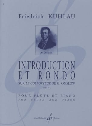 Introduction et Rondo op. 98a Friedrich Kuhlau Partition laflutedepan