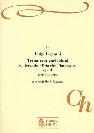 Tema con variazioni, op. 4 Luigi Rinaldo Legnani laflutedepan